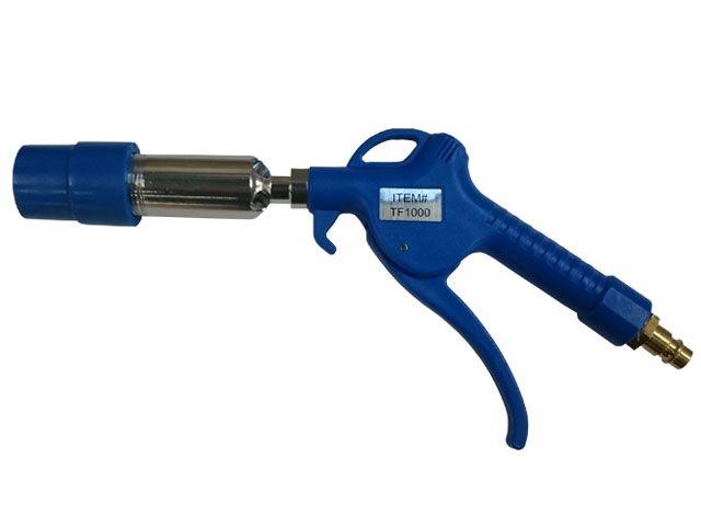Füllpistole für Stausäcke mit Turboflow-Ventil
