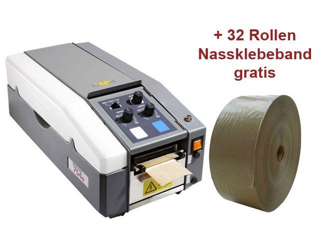 Klebestreifengeber für Nassklebeband - elektronisch - TERZETT 754