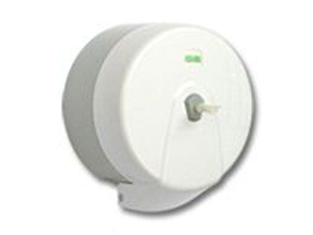 Spender für Toilettenpapier, weiß - für Rollen mit Innenabzug - bis 14 cm