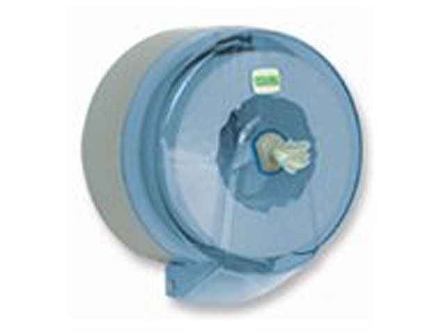 Spender für Toilettenpapier, transparent - für Rollen mit Innenabzug - bis 14 cm