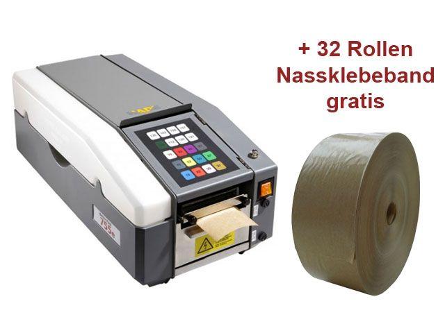 Klebestreifengeber für Nassklebeband - elektronisch - VARIO 755