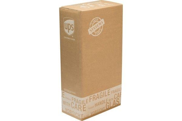 Flaschenverpackung - für 2 Flaschen - 205x105x380 - mit PTZ-Zulassungen