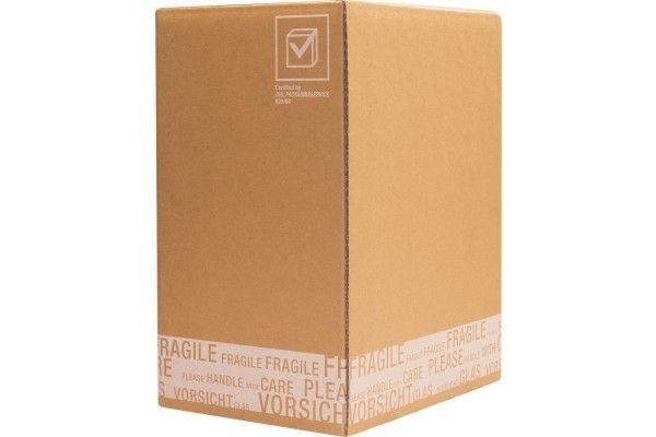 flaschenverpackung f r 6 flaschen 305x210x360 mm mit ptz zulassungen verpackungsmaterial. Black Bedroom Furniture Sets. Home Design Ideas