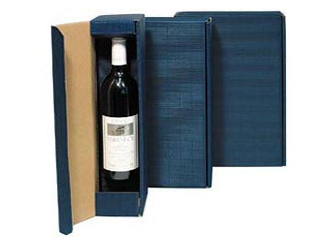 geschenkkarton blau f r 3 flaschen 252x94x363 mm verpackungsmaterial kartons klebeband. Black Bedroom Furniture Sets. Home Design Ideas