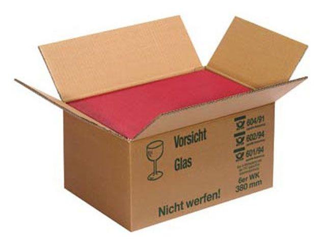 wellpapp umkarton f r 4 flaschen 430x215x205 mm verpackungsmaterial kartons klebeband. Black Bedroom Furniture Sets. Home Design Ideas