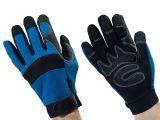 Ulith- Mechaniker-Handschuhe, blau - Größe 11