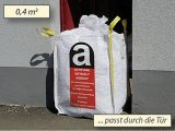 Asbest-Big-Bags, weiß - 70x70x90 cm - 800 Kg