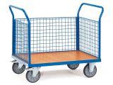 Fetra Dreiwandwagen - mit Drahtgitter  - 1030x509x958 mm - bis 500 kg