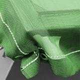 stabile luftdurchlässige Gewebeplane, grün - 2,3x5,0m - 200g/m² mit Ösen - ohne Gummiseil